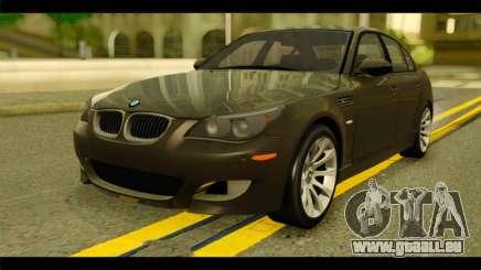 BMW M5 E60 2009 für GTA San Andreas