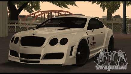 Bentley Continental GT Platinum Motorsport für GTA San Andreas