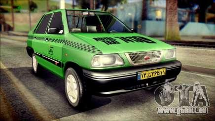 Kia Pride 141 Iranian Taxi für GTA San Andreas