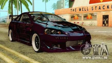Acura RSX Hinata Itasha pour GTA San Andreas