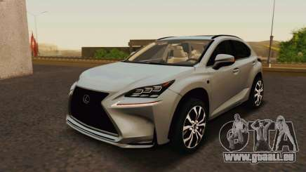 Lexus NX200T v2 pour GTA San Andreas