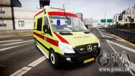 Mercedes-Benz Sprinter 311 cdi Belgian Ambulance pour GTA 4