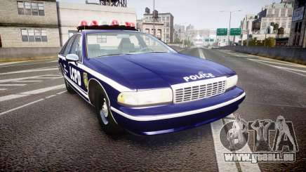 Chevrolet Caprice 1994 LCPD Auxiliary [ELS] für GTA 4