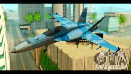 FA-18 Super Hornet Aggressor Squadron pour GTA San Andreas