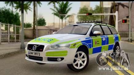 Volvo V70 Kent Police für GTA San Andreas