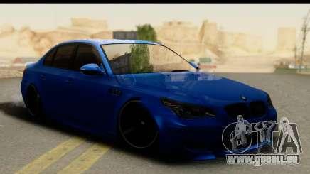BMW M5 E60 Stanced pour GTA San Andreas