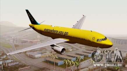 Airbus A320-200 MTN pour GTA San Andreas