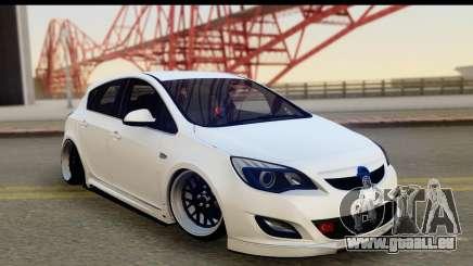 Opel Astra J für GTA San Andreas