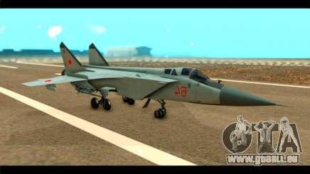MIG-31 Soviet pour GTA San Andreas