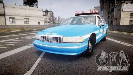 Chevrolet Caprice 1994 LCPD Patrol [ELS] pour GTA 4