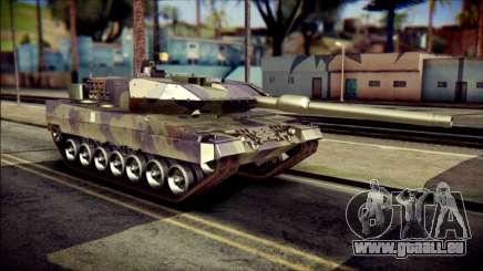 Leopard 2A6 PJ für GTA San Andreas