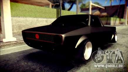 Volkswagen Caddy Widebody Top-Chop pour GTA San Andreas