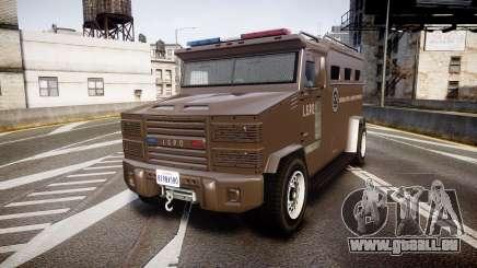 GTA V Brute Police Riot [ELS] skin 1 pour GTA 4