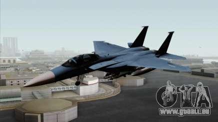 McDonnell Douglas F-15D Eagle GRDF pour GTA San Andreas