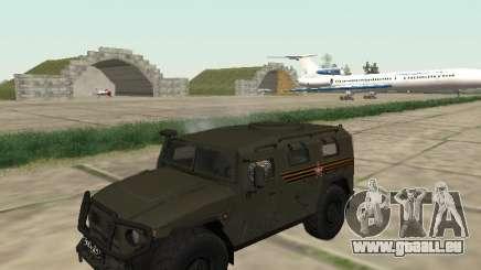 GAZ 2330 Avant pour GTA San Andreas