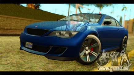 GTA 5 Ubermacht Zion XS pour GTA San Andreas