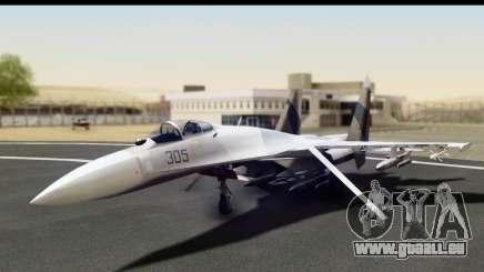 SU-35BM Yuktobanian Air Force pour GTA San Andreas