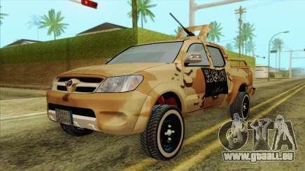 Toyota Hilux Siria Rebels für GTA San Andreas
