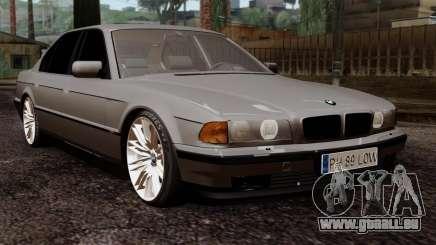 BMW 750iL E38 Romanian Edition für GTA San Andreas