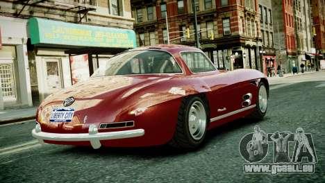 Benefactor Stirling GT from GTA 5 pour GTA 4 Vue arrière de la gauche