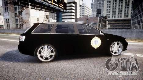Audi S4 Avant Serbian Police [ELS] für GTA 4 linke Ansicht