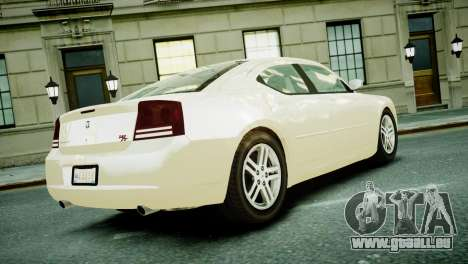 Dodge Charger RT 2006 pour GTA 4 est une gauche