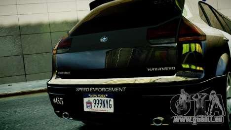 Subaru Impreza WRX STI Police für GTA 4 rechte Ansicht