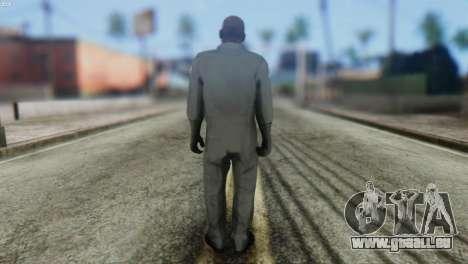 Pilot Skin from GTA 5 pour GTA San Andreas deuxième écran
