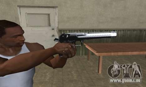 Refle Deagle pour GTA San Andreas troisième écran