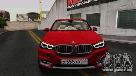 BMW X5 F15 2014 für GTA San Andreas linke Ansicht