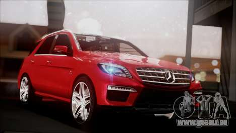 Mercedes-Benz ML 63 AMG 2014 pour GTA San Andreas