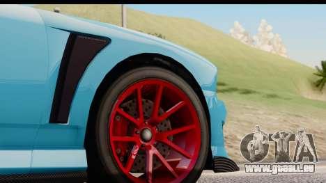 GTA 5 Bravado Buffalo S Sprunk IVF pour GTA San Andreas vue intérieure