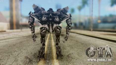 Starscream Skin from Transformers v2 für GTA San Andreas dritten Screenshot