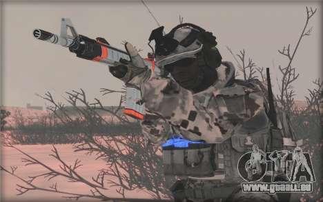 BF3 Soldier pour GTA San Andreas quatrième écran
