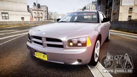 Dodge Charger Police Unmarked [ELS] für GTA 4