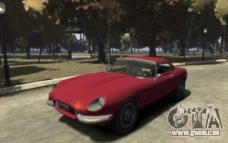 Enus Windsor Classic pour GTA 4 est une gauche