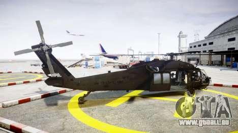 Sikorsky MH-60L Black Hawk [EPM] für GTA 4 linke Ansicht