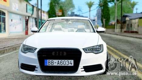 Audi A6 Stanced für GTA San Andreas linke Ansicht