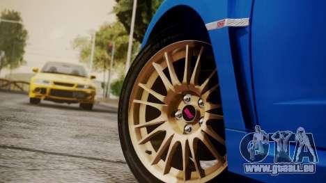 Subaru Impreza WRX STI 2008 PJ für GTA San Andreas rechten Ansicht