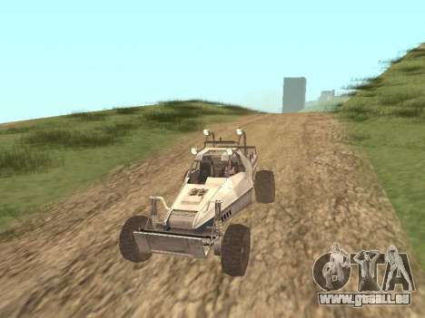 Buggy from Just Cause pour GTA San Andreas laissé vue