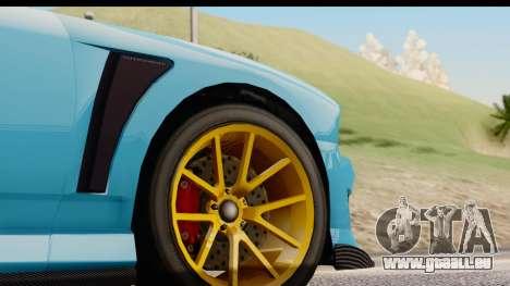 GTA 5 Bravado Buffalo S Sprunk IVF für GTA San Andreas Seitenansicht