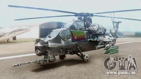 Changhe WZ-10 für GTA San Andreas