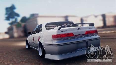 Toyota Mark 2 100 pour GTA San Andreas laissé vue