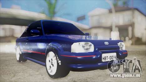 Ford Escort für GTA San Andreas
