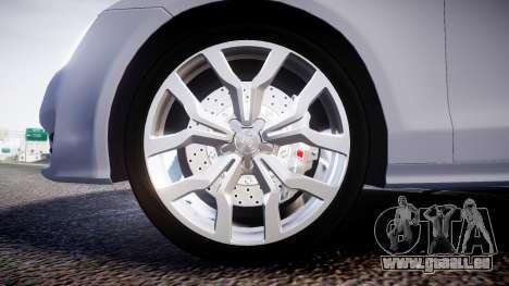 Audi A7 pour GTA 4 Vue arrière