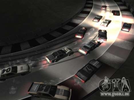 De nouvelles textures de la piste 8 Piste pour GTA San Andreas quatrième écran