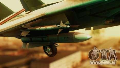 F-14D VF-213 Black Lions für GTA San Andreas rechten Ansicht