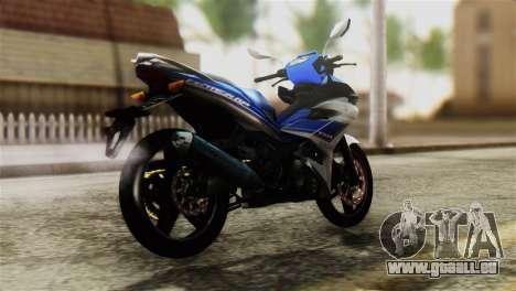 Yamaha MX KING 150 für GTA San Andreas linke Ansicht
