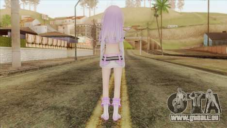 Nepgear Idol (Hyperdimension Neptunia) für GTA San Andreas zweiten Screenshot