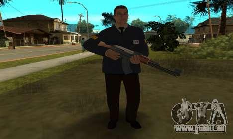 FBI HD pour GTA San Andreas sixième écran
